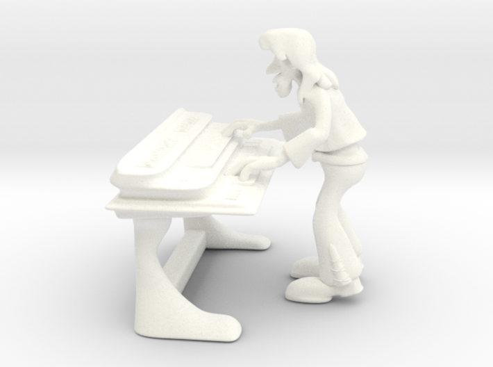 Electric Player 3d printed