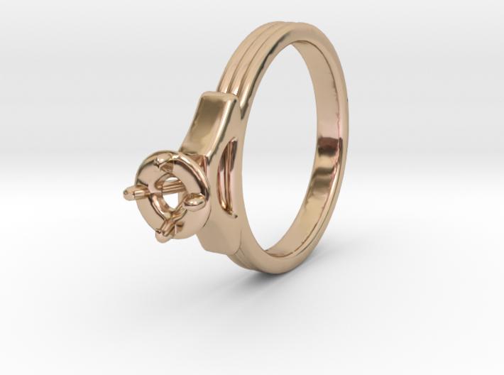 ø18.80 Mm Diamond Ring ø4.8 Mm Fit 3d printed