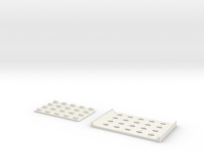 Casio MQ-1 Keypad 3d printed