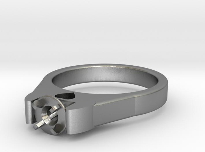 Ø20.57 Mm Diamond Ring Ø4.8 Mm Fit With Heart 3d printed
