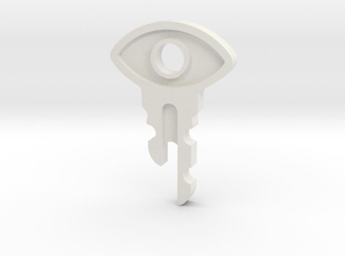 Satellite Key 3d printed