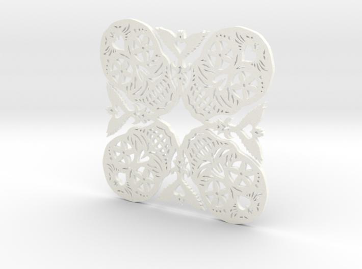 Calaveras Snowflake #2 3d printed