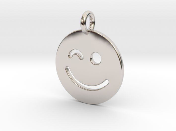Smilie ( ) 3d printed