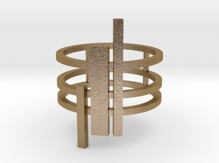 Triptyque (Size: small: 4) 3d printed