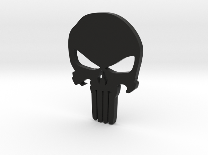 Punisher 2015 Mustang Badge - Small 3d printed
