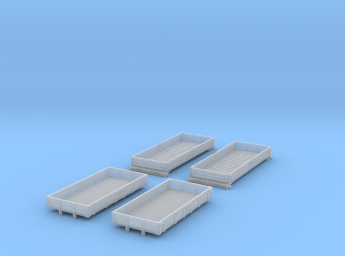 BR Engineering Wagons 3d printed