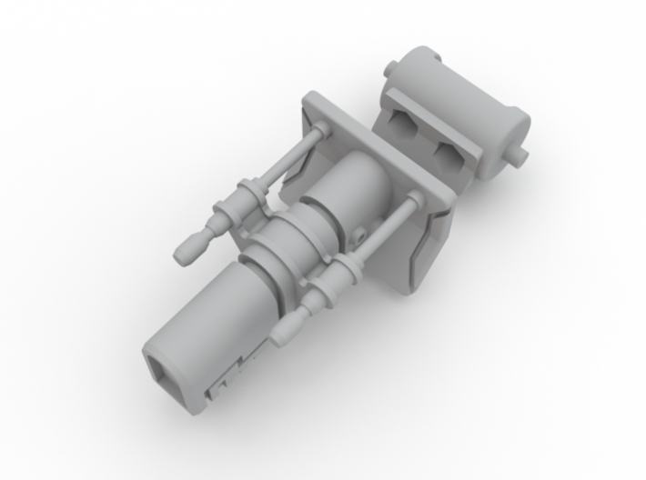 Turret Ion Cannon  3d printed