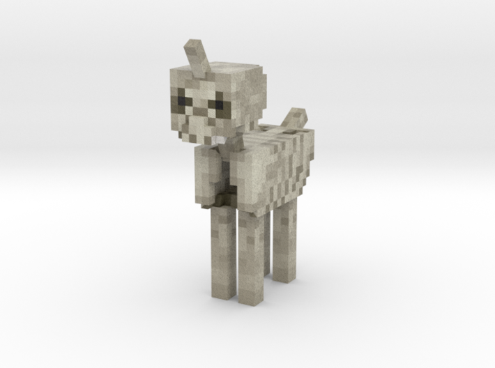Skeleton Pony 3d printed