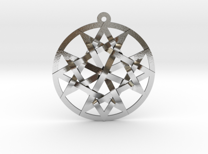 Unicursal Maltese Cross/The Quantum Communicator 3d printed