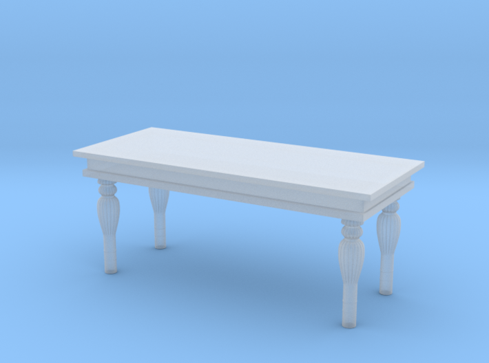 Miniature 1:48 Marble Table 3d printed