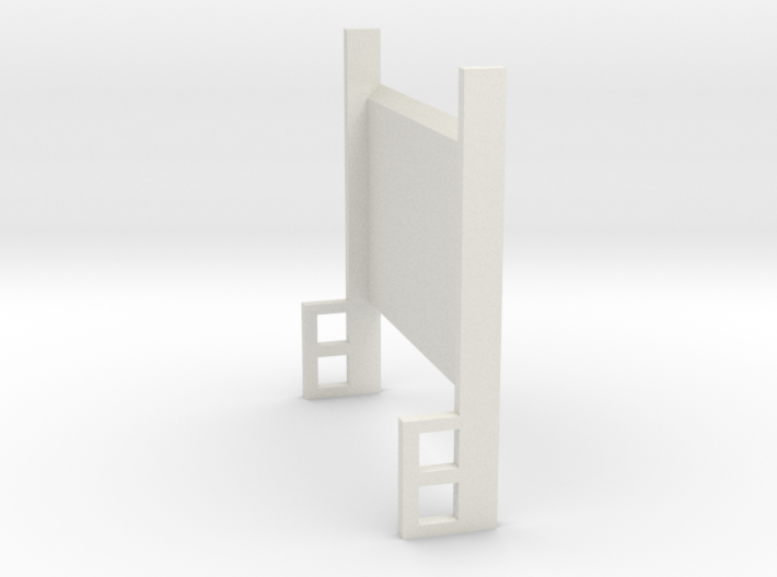 Lift Gate Up Position 1-87 HO Scale 3d printed