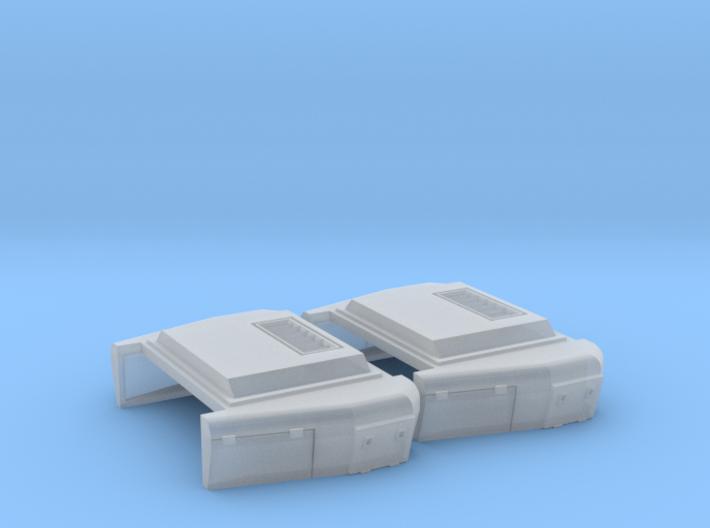 EMD Extended Range Dynamic (N - 1:160)(Kato) 2X 3d printed
