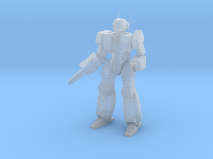 WSP-OS Test Model 6mm scale 3d printed