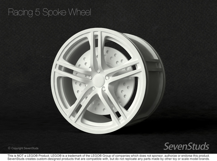 Racing Wheel 01_56mm 3d printed