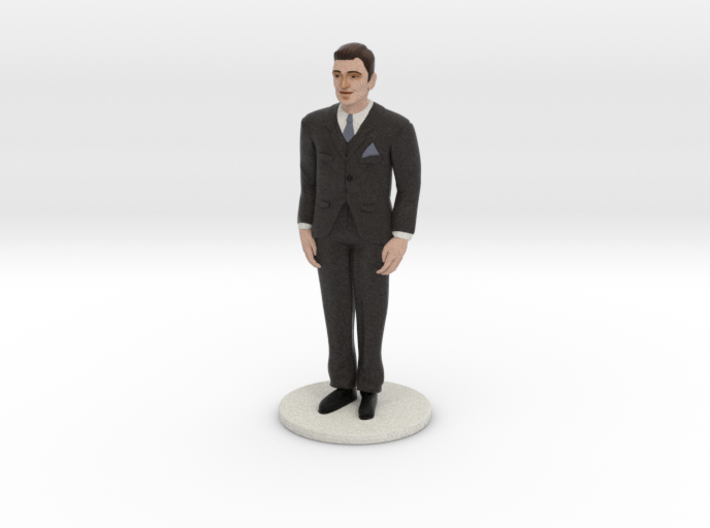 Light Brunette Groom (v.1) 3d printed