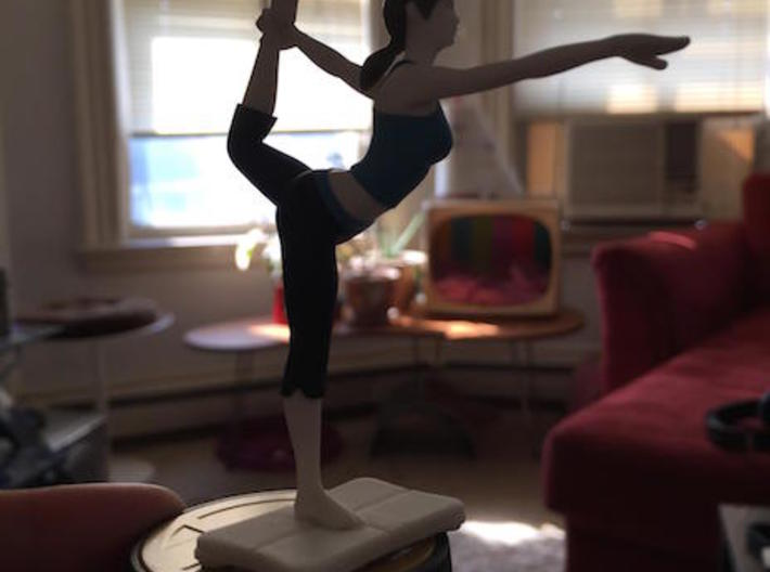 Balance Board for Wii Fit Trainer amiibo 3d printed Photo courtesy of NewEnglandRetro.