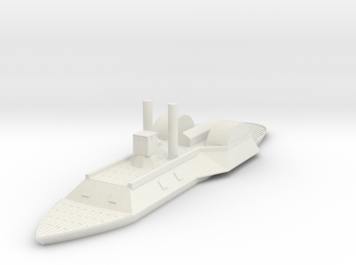 1/600 Eastport with Decking 3d printed