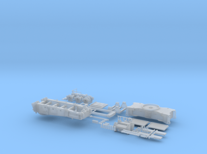 L 1750-04 750 to Raupenkran Transport 1/87 3d printed