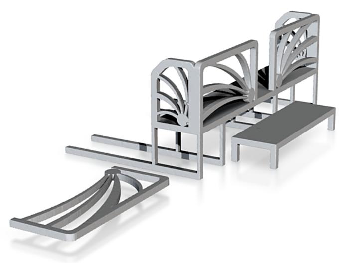 Space Shuttle Decks 3d printed Space Shuttle Decks