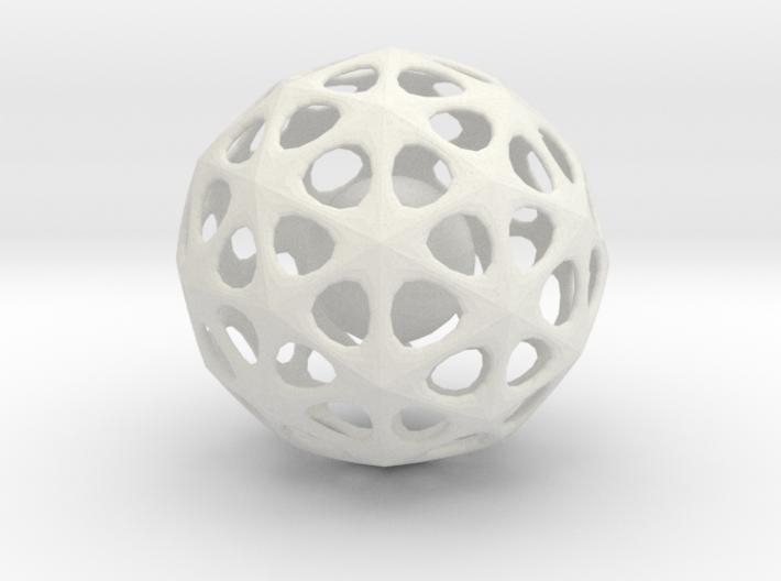 CagedBallInStars 3d printed
