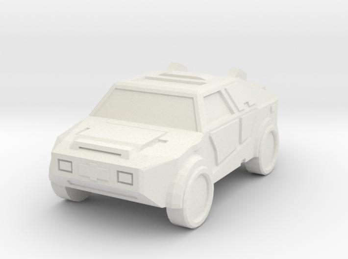 Car Keychain (Customizable!) 3d printed