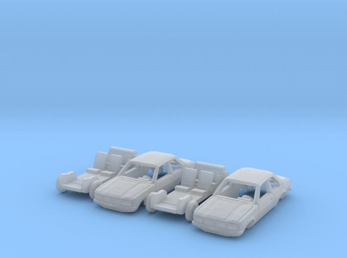 SET 2x Opel Ascona B (TT 1:120) 3d printed