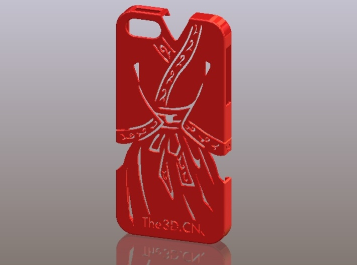 iPhone5_The Chinese Style-Ancient costume 01 3d printed