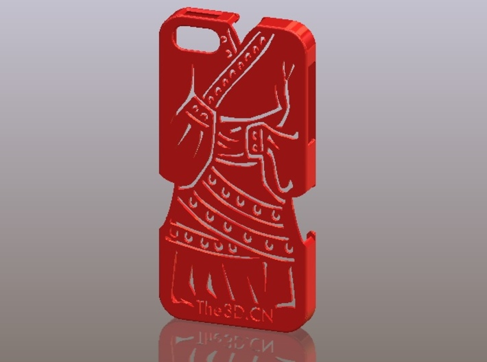 iPhone5_The Chinese Style -- Ancient costume 02 3d printed