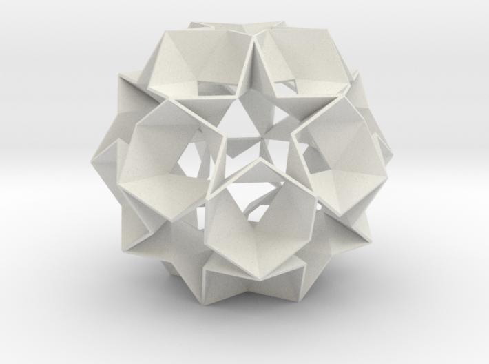 12 Star Ball - 8.4 cm 3d printed