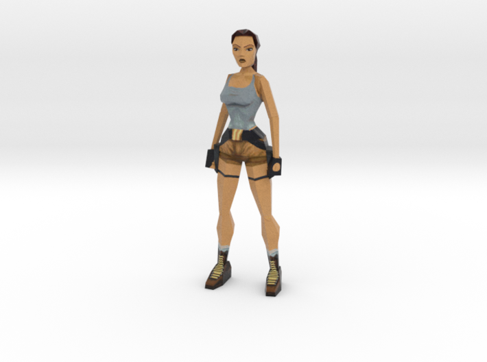 Lara Retro - 100mm 3d printed