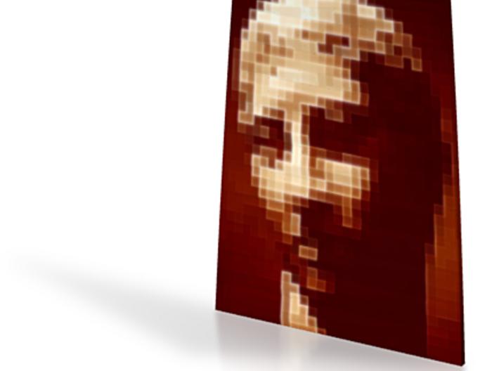 Brown Portrait twist #2 5in 3d printed
