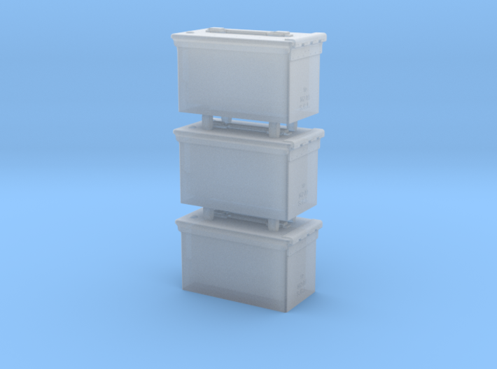 1/18 SPM-18-015 cal.50 ammobox 3d printed