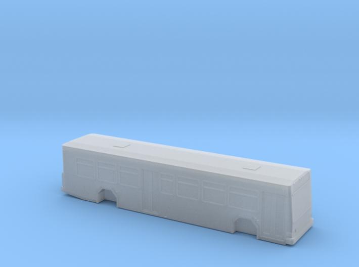 n scale gillig low floor advantage bus (new) 3d printed