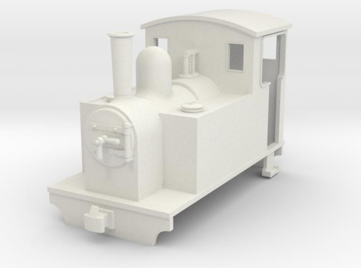 009 small steam sidetank 2 3d printed
