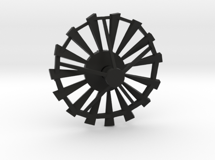 Windmill Blades Pendant 3d printed