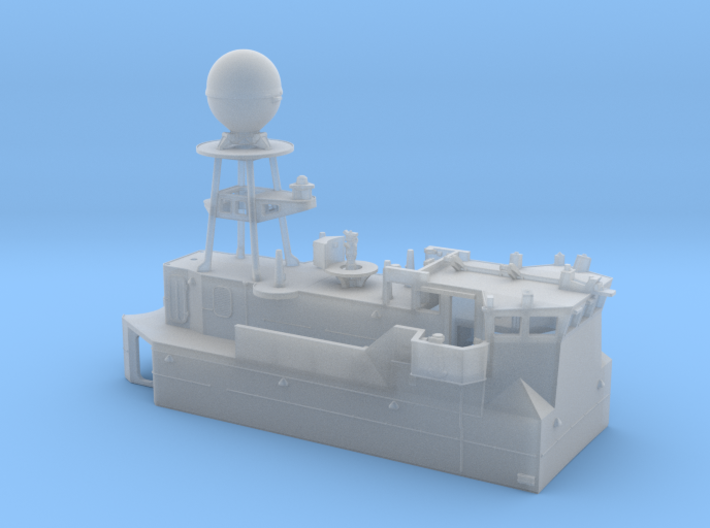 HMAS Vampire 1/350 Bridge Block 3d printed