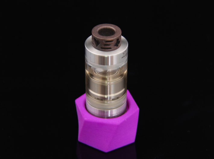 Trump Driptip Heat Sink: Stainless Steel 3d printed