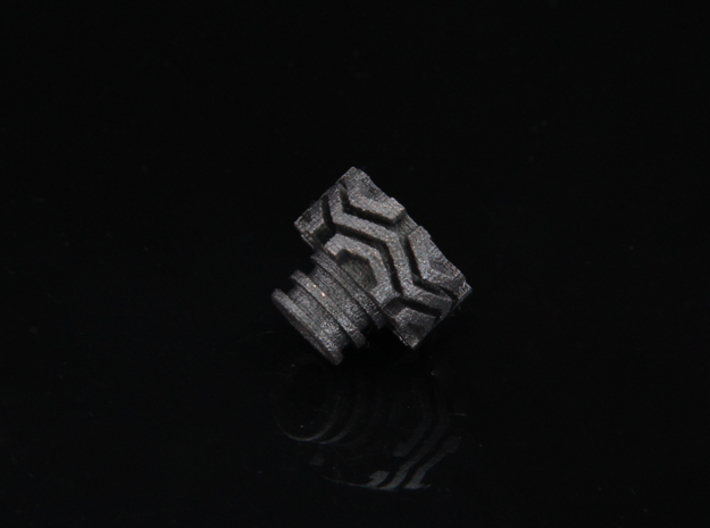 Offroader Driptip Heat Sink: Stainless Steel 3d printed