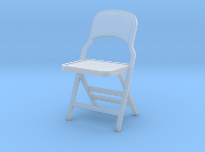 1:24 Vintage Folding Chair 3d printed