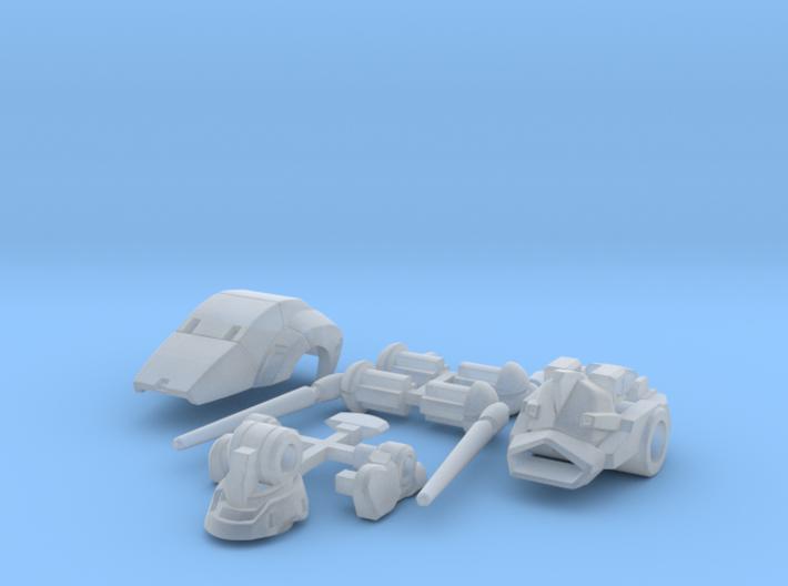 VF 1X++ Head Unit 3d printed
