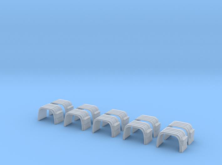 Kotflügel Mit Rückleuchtenhalter 5 Stck 3d printed