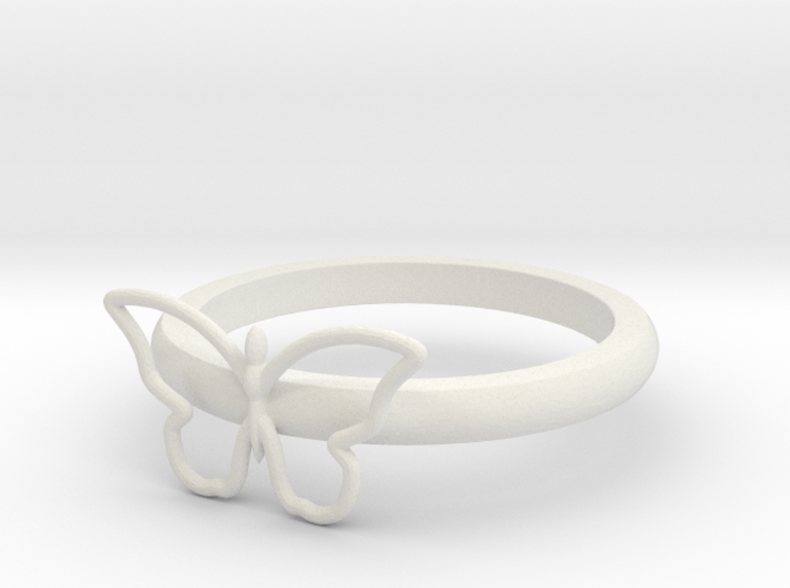 Butterfly Serviette Ring 3d printed