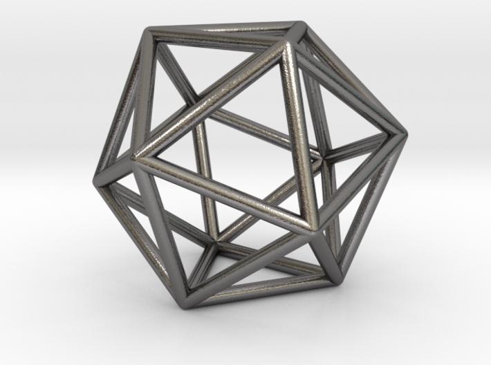 0026 Icosahedron E (5 cm) 3d printed