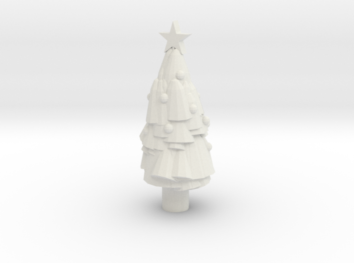 Paint Your Own Mini Christmas Tree 3d printed