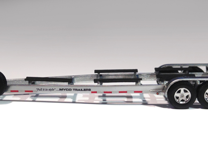 1/87 Myco Trailer 3-axle speedboat-trailer 3d printed