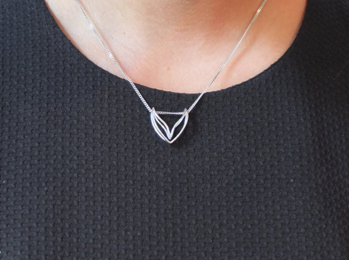LONELY WINGS Fine, Pendant 3d printed