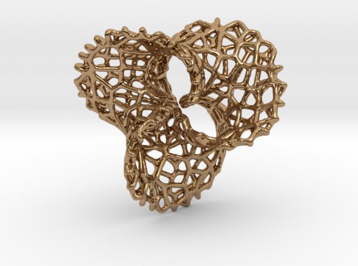 Scherk 7 Voronoi - thickened for precious metals 3d printed