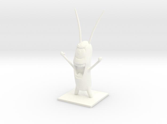 Sheldon Plankton 3d printed