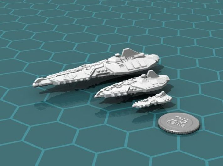 Stravok Shung Battleship 3d printed The Stravok Fleet, so far...