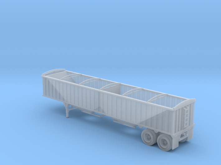 N-Scale CPS-Manac 40' Grain Trailer 3d printed